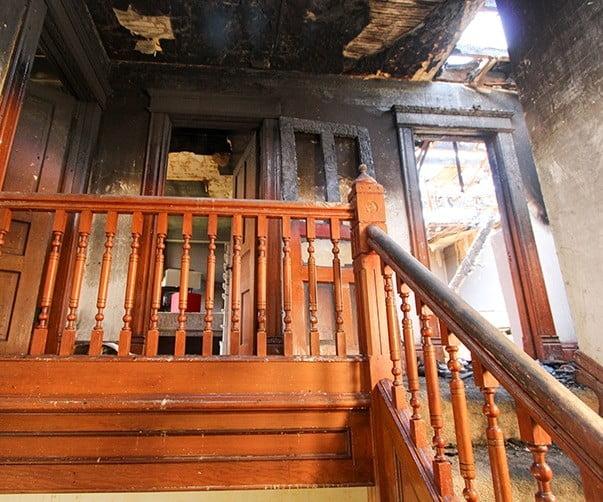 Fire damage insurance claim Miami FL