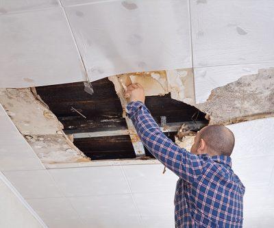 Roof Leak Water Damage